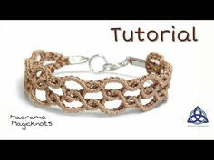 Macrame Bracelet Tutorial Super Easy Wavy by Macrame Magic Knots. this easy Macrame tutorial Ill show you How to Make Bracelet with Easy and Simple Macrame Design. Macrame Jewelry Tutorial, Macrame Bracelet Patterns, Friendship Bracelet Patterns, Macrame Bracelets, Handmade Bracelets, Beaded Jewelry, Friendship Bracelets, Macrame Earrings, Bracelet Knots
