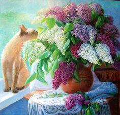 Sidorenko Jeanne. profumo di lilla