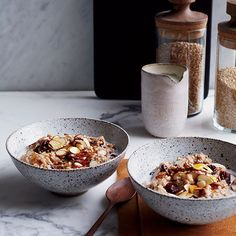 Healthy (and delicious) Breakfasts, incl. Creamy Steel-Cut Oats with Dried Cherries and Almonds | Food & Wine