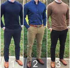 three option for formal style