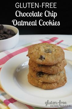 There's nothing like homemade cookies, and these soft, gluten-free Oatmeal Chocolate Chip Cookies are delicious. My family and friends love them.