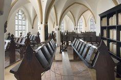 St. Walburgiskerk Library, Zutphen, Netherlands.
