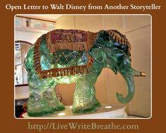 Open Letter to Walt Disney from Another Storyteller #writing #writers