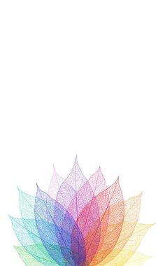 Rainbow leaves iphone phone wallpaper background lockscreen