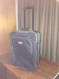 "Quality ""Mercury Bay "" CoachRD Carry on Bag in great condition pull out Handle and zip ext for more space when required Has served me well Good strong internati..."