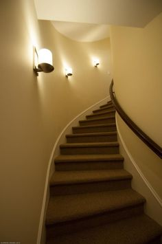 24 Lights For Stairways Ideas For Your Home Decor Inspiration | Stairs  Decoration Ideas | Pinterest | Stair Lighting, Stairways And Led Stair  Lights
