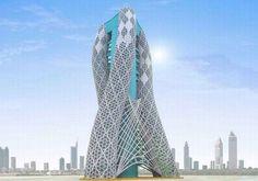 Strata Tower, Abu Dhabi, UAE