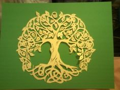 Paper Cutting by Hand 6/12/15 This is my favorite hand paper cutting so far.  I think it is also the best cut so far.  I am getting pretty good at this.  A lot of fun and not as hard as you would think.