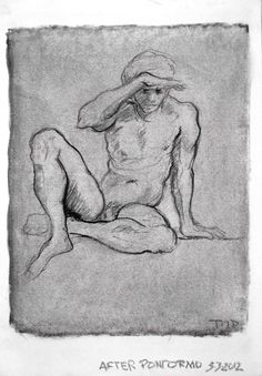 Tim Dayhuff - drawings - after Pontormo