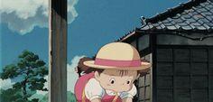 """What a stupid bucket!"" - Mei, ""My Neighbor Totoro"""