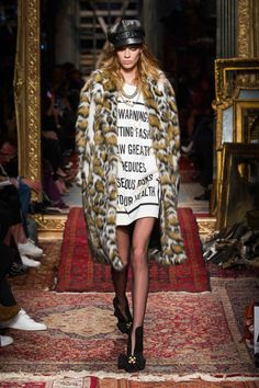 Moschino Fall - Winter 2016-17