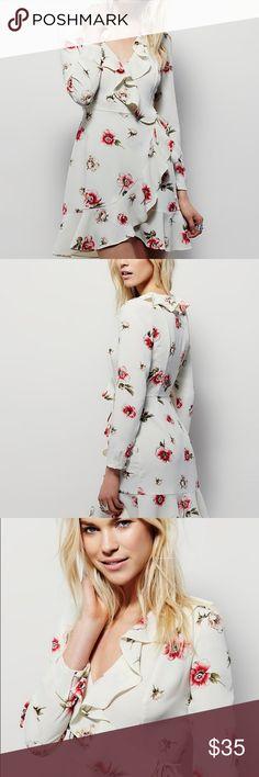 NWOT: Free People Echo Ruffle Mini Dress Size S . Free People Dresses Mini