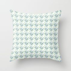 Buy it online. #pillow #cushion, #decor home #decoration, #decorative light colors, #white #blue #green #dotted, #dots, #blanc, #pattern, #sunnyday style #lively #fashionable #contemporary #modern #abstract design, almohada cojin para decoracion de la sala o recamara, #hamtz