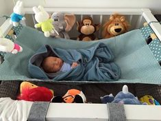 A co-sleeper is a baby bed that attaches to one side of an adult bed. It allows baby to remain close to the parents at night without actually being in the adult bed (which can be dangerous sometime… Diy Bebe, Baby Nest, Baby Necessities, Newborn Shoot, Baby Swings, Baby Play, Baby Hacks, Baby Cribs, Kids And Parenting