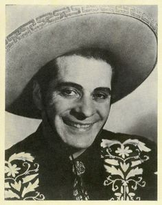 """Duncan Renaldo """" The Cisco Kid"""", Starred as a Mexican Vaccaro or cowboy in western movies and later he had a TV series in the mid 1950's."""
