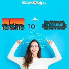 Cheap Flights from Toronto to Hyderabad, Travel for less with BookOtrip. Exclusive phone only flight deals on Toronto to Hyderabad Flight tickets. Cheap Flight Deals, Cheap Flight Tickets, Flight Fare, Flight Status, Emirates Airline, Cathay Pacific, Asian Market, British Airways, Cheap Flights