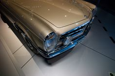 230 SL Pagode at the Mercedes-Benz Museum in Stuttgart