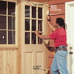 Plenty of storage for outdoor tools and toys, only a step away from your back door