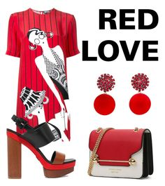 """""""Red Love"""" by fru316 on Polyvore featuring Holly Fulton, Michael Kors and Marni"""