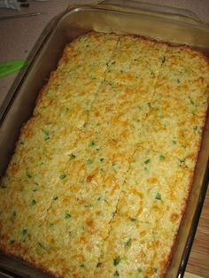 Very similar to cornbread. This is a nice side treat if feel like you need a little bread with your meal. This would go great with any soup or chili. THM S.