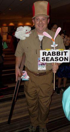 Shouldn't that be 'Wabbit' season?