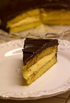 Boston Cream Pie from Brown Eyed Baker