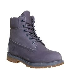 Timberland Premium 6 Boot Folkstone Grey Nubuck - Ankle Boots