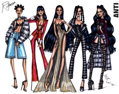 Rihanna ANTI collection by Hayden Williams