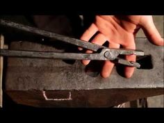 BLACKSMITHING - Forging tongs Step By Step How to - YouTube