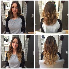 Extensiones de cabello natural californianas
