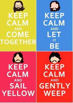 The Beatles Keep Calm
