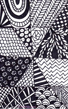 A super quick and easy Zentangle project for when you don;t have a lot of time…
