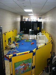 Nursery Area in Hallway