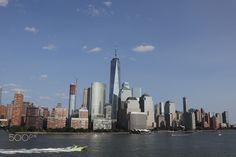 NYC from the hudson - NYC from the river hudson Hudson Nyc, New York Skyline, River, Rivers