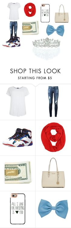 """HAPPY BIRTHDAY ASHLEIGH"" by emojiqveen ❤ liked on Polyvore featuring AG Adriano Goldschmied, Jordan Brand, MICHAEL Michael Kors, Casetify, Kate Marie, women's clothing, women, female, woman and misses"