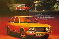 Seat 124 Sport 1800 (1973-1975) El coche más rápido fabricado en España en los años 70.