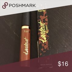 "Tarte lip paint in (wannabe shade) Tarte lip paint in ""Wannabe"" (rich brown) shade. New. Quick dry and full coverage. Ingredients include mineral oil and no paraben. tarte Makeup Lip Balm & Gloss"