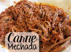 Carne mechada - The tastiest pulled Meat Recipes, Asian Recipes, Dinner Recipes, Cooking Recipes, Aruba Food, Venezuelan Food, Venezuelan Recipes, Asian Kitchen, Food Tent