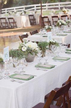 70 Pretty Potted Plants For Rustic Wedding Decor - Beauty of Wedding Green Wedding, Floral Wedding, Rustic Wedding, Wedding Flowers, Olive Wedding, Wedding Bouquets, Vasos Vintage, Herb Centerpieces, Wedding Plants