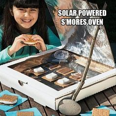 A solar-powered s'mores oven is a sweet way to explore the science of light and the power of the sun!