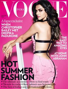 Deepika Padukone Indian Vogue 2011