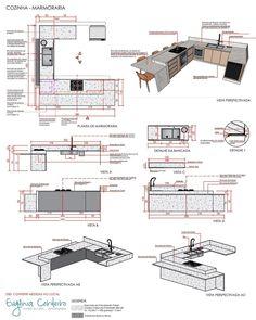 Interior Architecture Drawing, Modern Architecture House, Architecture Details, Layout Design, Interior Design Presentation, Color Plan, Portfolio Design, Kitchen Design, Ikea