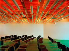 Meeting and conference space at Electric Works in Sheffield Architectural Photographers, Sheffield, It Works, Projects, Electric, Ceilings, Conference, Lamps, Home Decor