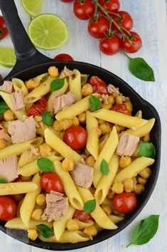 Paste cu ton si naut - CAIETUL CU RETETE Pasta Salad, Ethnic Recipes, Food, Kitchens, Crab Pasta Salad, Essen, Meals, Yemek, Eten