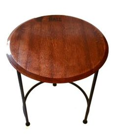 barrel table top - Google Search
