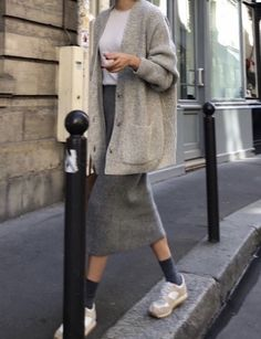 Possibly one of the most comfortable looks that exist 😍 By Looks Street Style, Looks Style, My Style, Mode Outfits, Casual Outfits, Fashion Outfits, Womens Fashion, Look Fashion, Korean Fashion