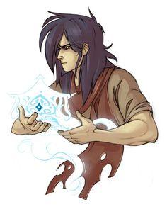 Avatar Wan protecting Raava