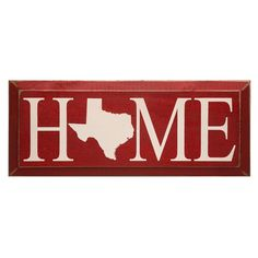 Personalized Home State Plaque at Signals   HT8612