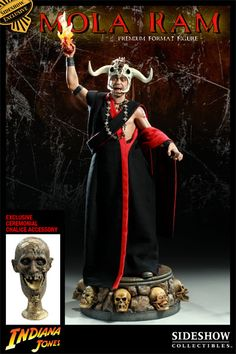 Indiana Jones: Temple of Doom    Mola Ram Premium Format Figure    http://www.sideshowtoy.com/?page_id=4489=3000281=learnmore_3000281#!prettyPhoto[product_gallery]/0/