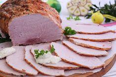 wesoła kuchnia: Szynka pieczona w rękawie Cold Cuts, Kielbasa, Deli, Camembert Cheese, Cake Recipes, Sandwiches, Pork, Food And Drink, Bread